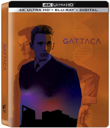Gattaca (1997) (Steelbook, 4K Ultra HD + Blu-ray)