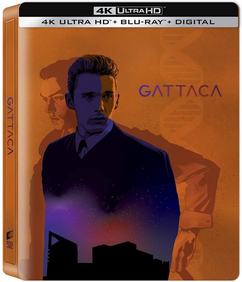 Gattaca (1997) (Steelbook, 4K Ultra HD + Blu-ray)