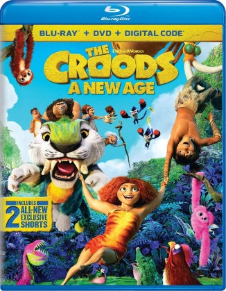 The Croods 2 - A New Age (2020) (Blu-ray + DVD)