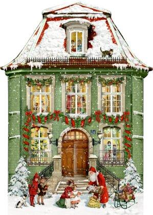 A3-Wandkalender - Zauberhaftes Weihnachtshaus