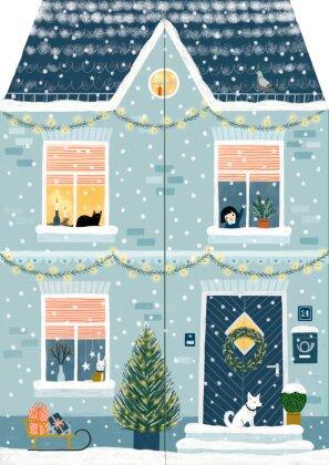 Aufstellkalender - Zuhause im Advent