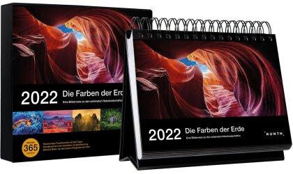 Tischkalender Die Farben der Erde 2022