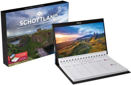 Schottland Tischkalender 2022