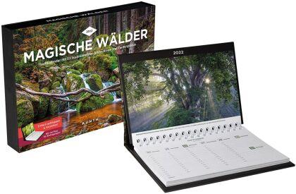 Magische Wälder Tischkalender 2022
