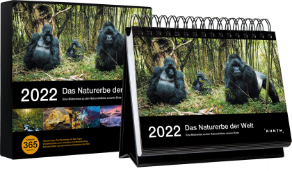 Tischkalender Das Naturerbe der Welt 2022
