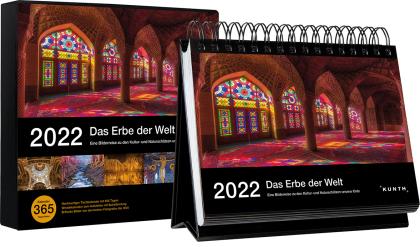 Tischkalender Das Erbe der Welt 2022