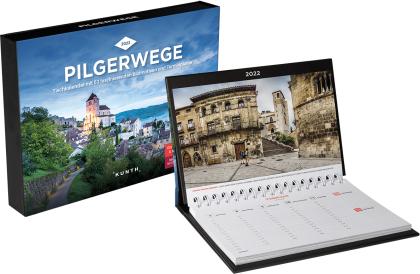 Pilgerwege Tischkalender 2022
