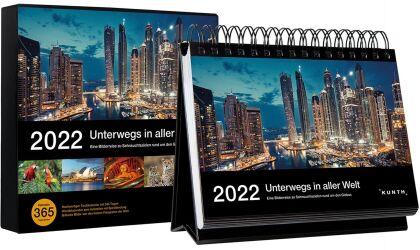 Tischkalender Unterwegs in aller Welt 2022