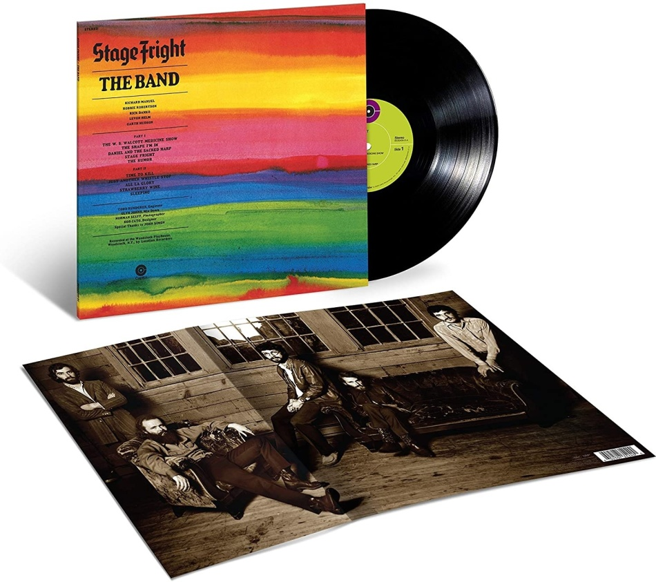 The Band - Stage Fright (2021 Reissue, 50th Anniversary Edition, LP)