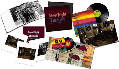 "The Band - Stage Fright (Boxset, 50th Anniversary Edition, Deluxe Edition, LP + 7"" Single + 2 CDs + Blu-ray)"