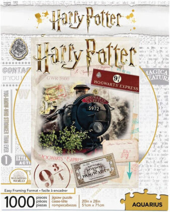 Harry Potter Hogwarts Express Ticket (Puzzle)
