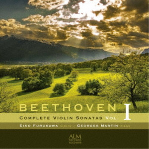 Ludwig van Beethoven (1770-1827), Eiko Furusawa & Georges Martin - Complete Violin Sonatas Vol. 1 (Japan Edition)
