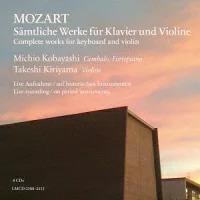 Michio Kobayashi, Takeshi Kitayama & Wolfgang Amadeus Mozart (1756-1791) - Complete Works Für Klavier und Violine (Japan Edition, 8 CDs)