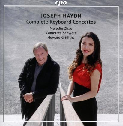 Joseph Haydn (1732-1809), Howard Griffiths, David Nebel, Mélodie Zhao & Camerata Schweiz - The Complete Keyboard Concertos (2 CDs)