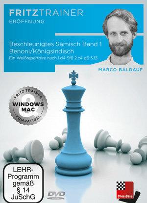 Beschleunigtes Sämisch Band 1 - Benoni/Königsindisch: Ein Weißrepertoire nach 1.d4 Sf6 2.c4 g6 3.f3 von Marco Baldauf