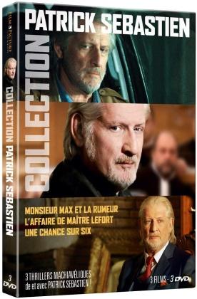 Collection Patrick Sébastien - Monsieur Max et la rumeur / L'affaire de Maître Lefort / Une chance sur six (3 DVDs)
