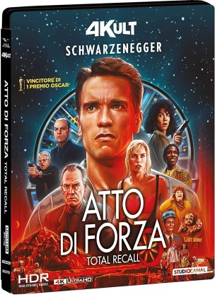 Atto di forza (1990) (4Kult, 4K Ultra HD + Blu-ray)