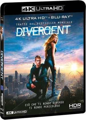 Divergent (2014) (4K Ultra HD + Blu-ray)