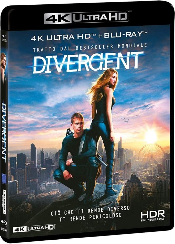 Divergent (2014) (4K Ultra HD + Blu-ray)