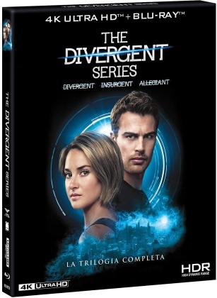Trilogia Divergent Series - La Trilogia Completa (3 4K Ultra HDs + 4 Blu-ray)