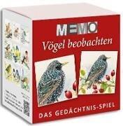 Memo-Spiel - Vögel beobachten