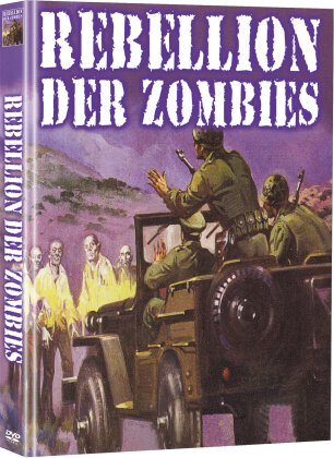 Rebellion der Zombies - Rebellen des Grauens (1986) (Cover B, Limited Edition, Mediabook, 2 DVDs)