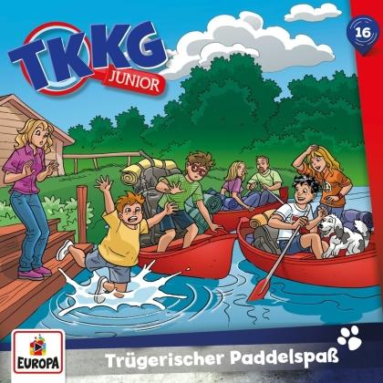TKKG Junior - 016/Trügerischer Paddelspaß