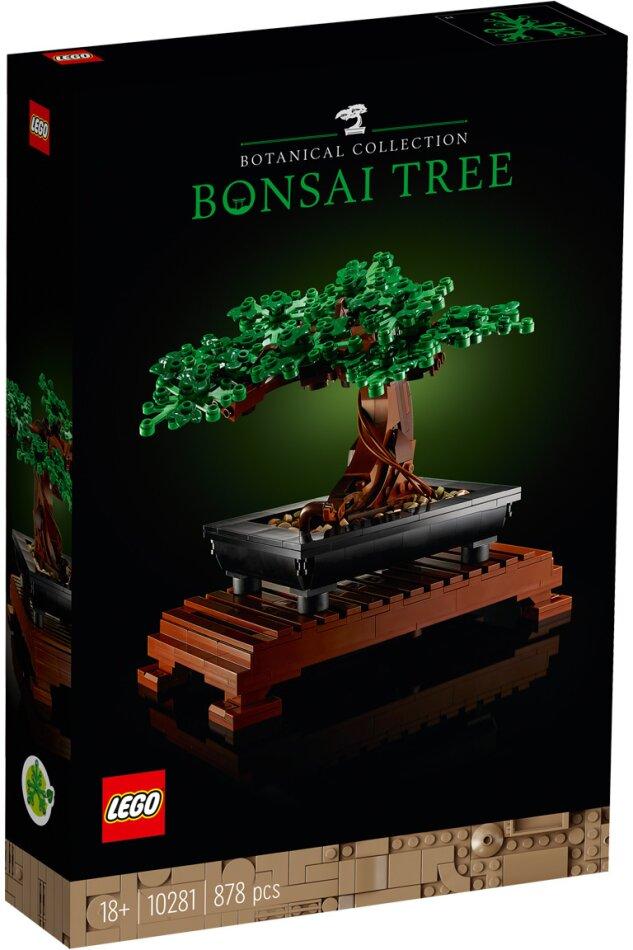 Bonsai Baum - Lego Creator, 878 Teile,