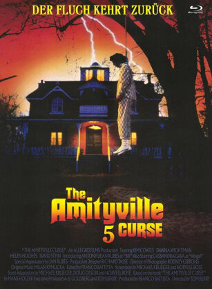 Amityville 5 - The Curse (1990) (Cover D, Limited Edition, Mediabook, Uncut, Blu-ray + DVD)