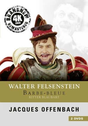 Jacques Offenbach - Ritter Blaubart - Barbe-Bleue (Remastered, 2 DVDs)