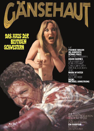 Gänsehaut - Das Haus der blutigen Schwestern (1969) (Cover B, Eurocult Collection, Limited Edition, Mediabook, Uncut, Blu-ray + DVD)