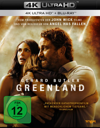 Greenland (2020) (4K Ultra HD + Blu-ray)
