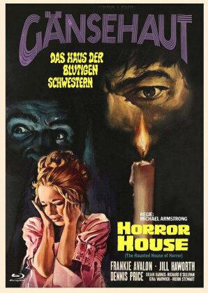 Gänsehaut - Das Haus der blutigen Schwestern - Horror House (1969) (Cover C, Eurocult Collection, Limited Edition, Mediabook, Uncut, Blu-ray + DVD)