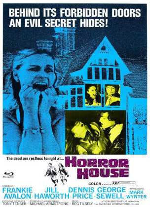 Horror House (1969) (Cover A, Eurocult Collection, Limited Edition, Mediabook, Uncut, Blu-ray + DVD)