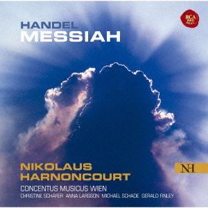 Georg Friedrich Händel (1685-1759), Nikolaus Harnoncourt & Concentus Musicus Wien - Messiah - Messias (Japan Edition, 2020 Reissue, 2 CDs)