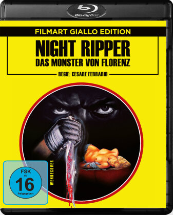 Night Ripper - Das Monster von Florenz (1986) (Filmart Giallo Edition)