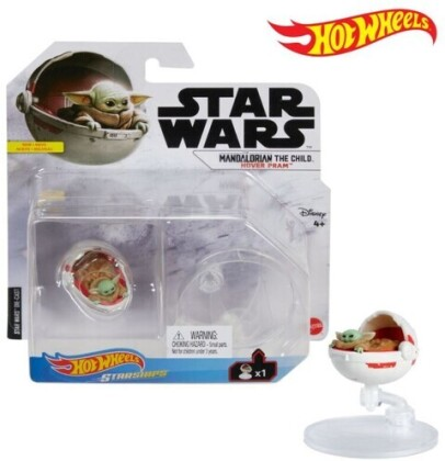 Hot Wheels Star Wars - Hw Sw Mandalorian The Child Hover Pram Starship