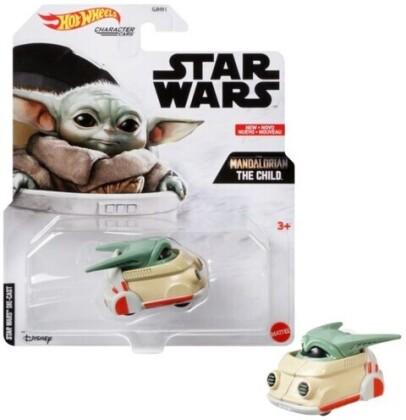 Hot Wheels Star Wars - Hw Sw Mandalorian The Child Character Car