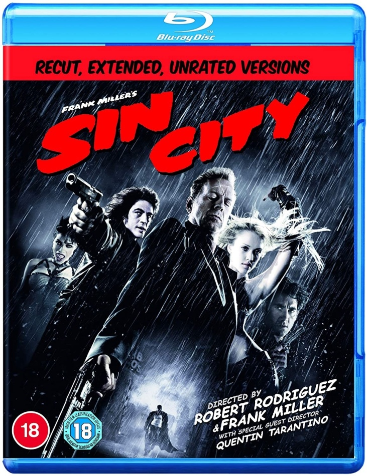 Sin City (2005) (Recut, Extended Edition, Unrated)