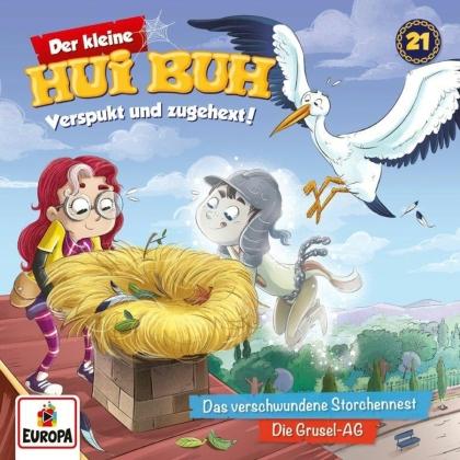 Der Kleine Hui Buh - 021/Das verschwundene Storchennest/Die Grusel-AG
