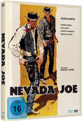 Nevada Joe (1965) (Cover A, Limited Edition, Mediabook, Blu-ray + DVD)