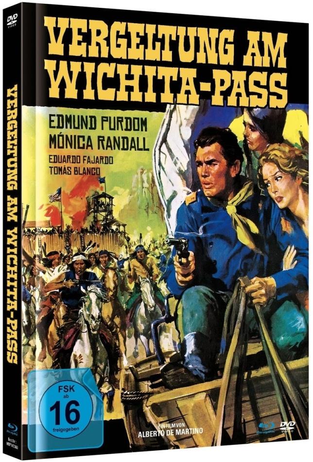 Vergeltung Am Wichita-Pass (1965) (Cover A, Limited Edition, Mediabook, Blu-ray + DVD)