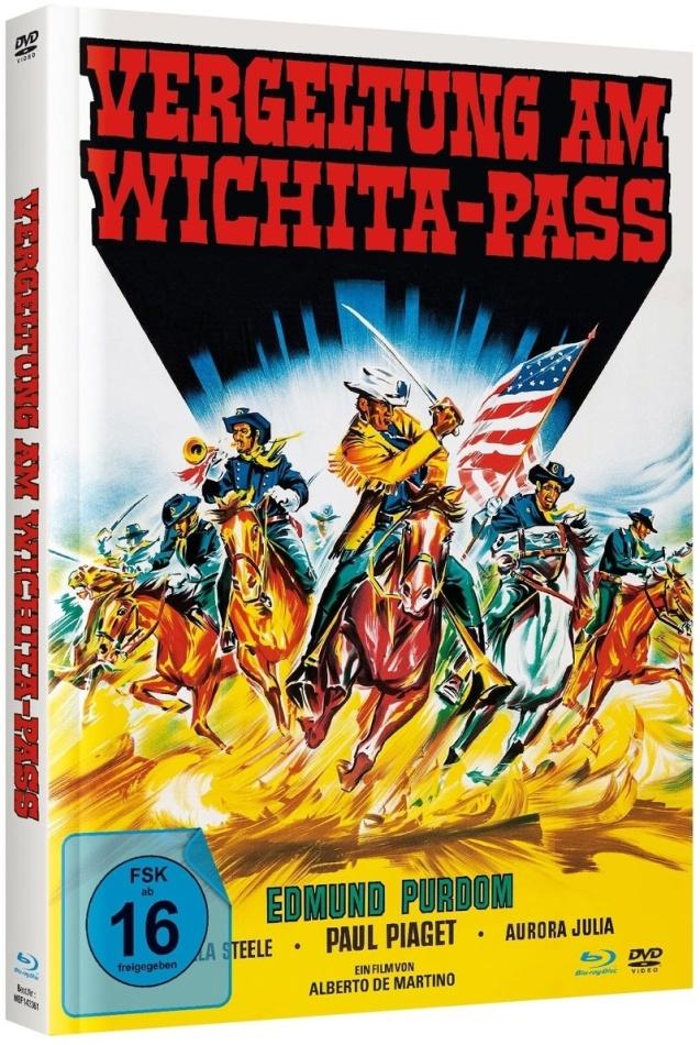 Vergeltung Am Wichita-Pass (1965) (Cover B, Limited Edition, Mediabook, Blu-ray + DVD)