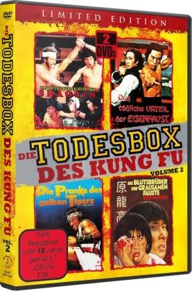 Die Todesbox des Kung Fu - Vol. 2 - Das blutige Vermächtnis der Shaolin / Das tödliche Urteil der Eisenfaust / Die Pranke des gelben Tigers / Die Blutsbrüder der grausamen Fäuste (Edizione Limitata, 2 DVD)