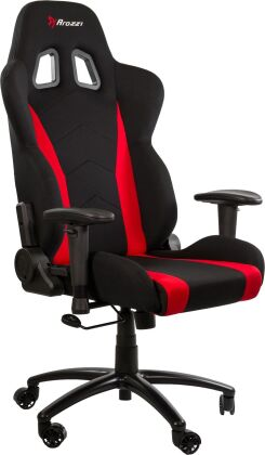 Arozzi Inizio Fabric Gaming Chair - red