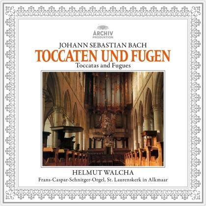 Johann Sebastian Bach (1685-1750) & Helmut Walcha - Toccata And Fugue, BWV565, 540, 538 & 564 (LP)