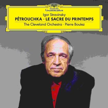 Igor Strawinsky (1882-1971), Pierre Boulez (*1925) & The Cleveland Orchestra - Petrouchka / Le Sacre Du Printemps (2 LPs)
