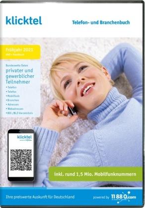 klicktel Telefon- und Branchenbuch Frühjahr 2021