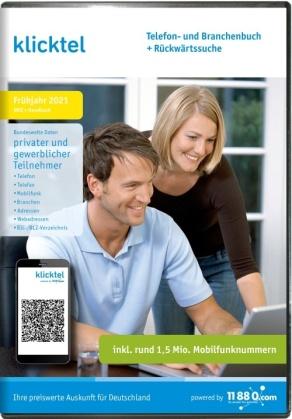 klicktel Telefon- und Branchenbuch + Rückwärtssuche Frühjahr 2021