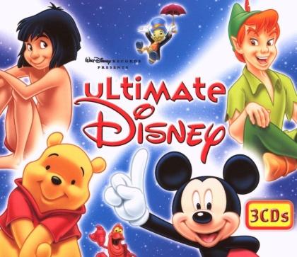 Ultimate Disney - OST - Disney English (3 CDs)